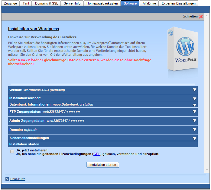 neue-webseite-wordpress-installation