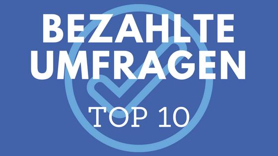 Umfragen Top 10