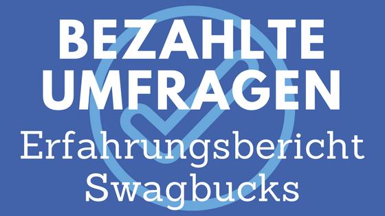 Swagbucks Erfahrung