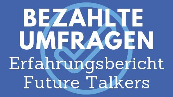Future Talkers Erfahrungen